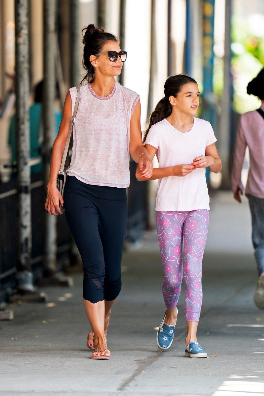 Katie Holmes und Tochter Suri