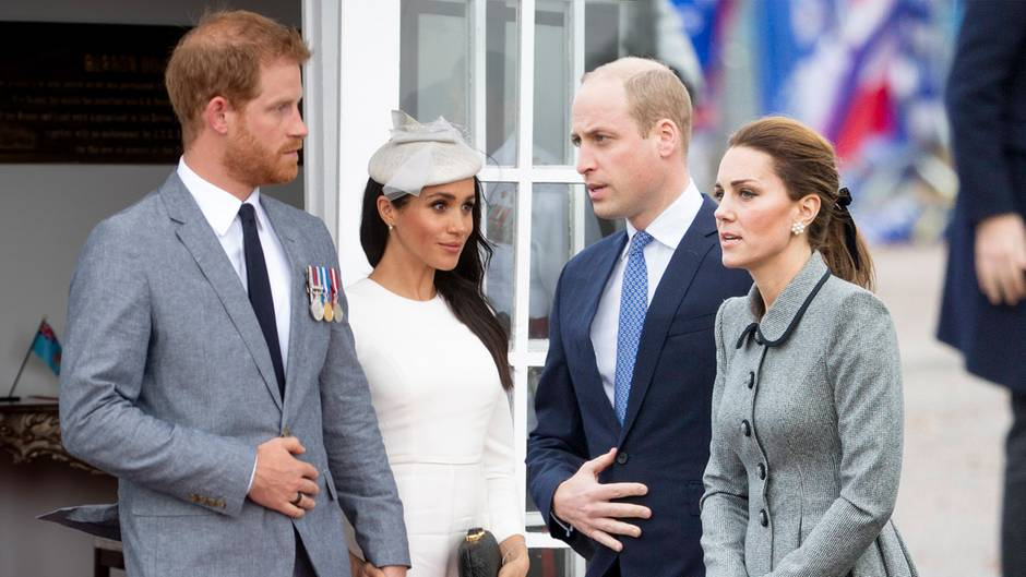 Prinz Harry, Herzogin Meghan, Prinz William und Herzogin Meghan
