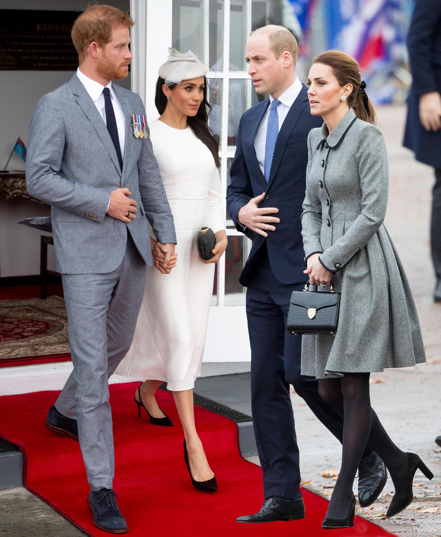Prinz Harry, Herzogin Meghan, Prinz William und Herzogin Meghan
