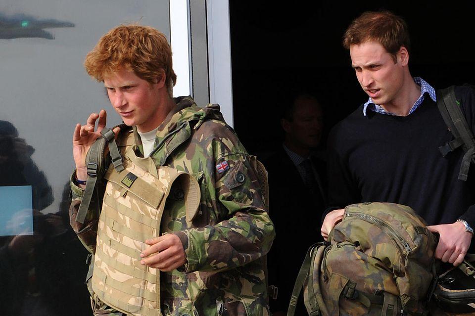 Harry und William waren beide beim Militär