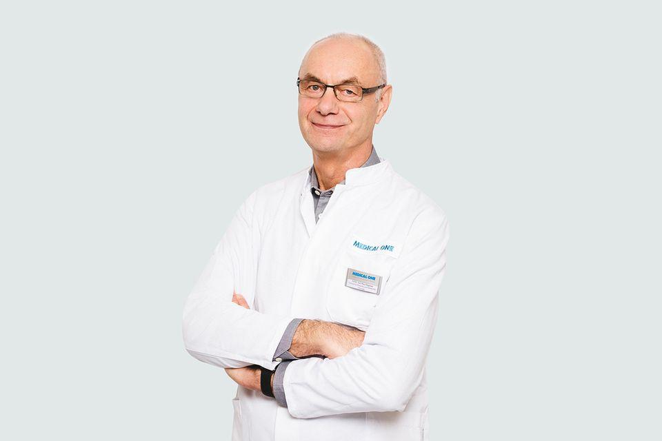 Prof. Dr. Klaus Plogmeier Ärztlicher ist Leiter und Facharzt für Plastische und Ästhetische Chirurgie bei Medical One