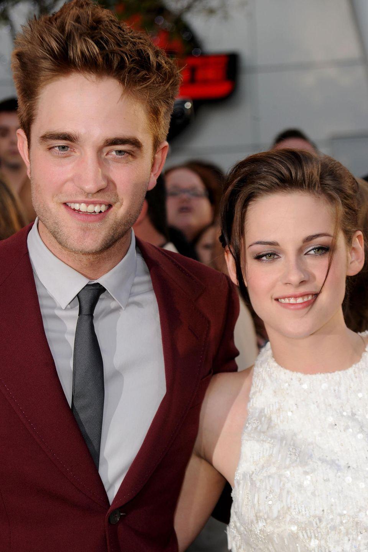 Robert Pattinson + Kristen Stewart