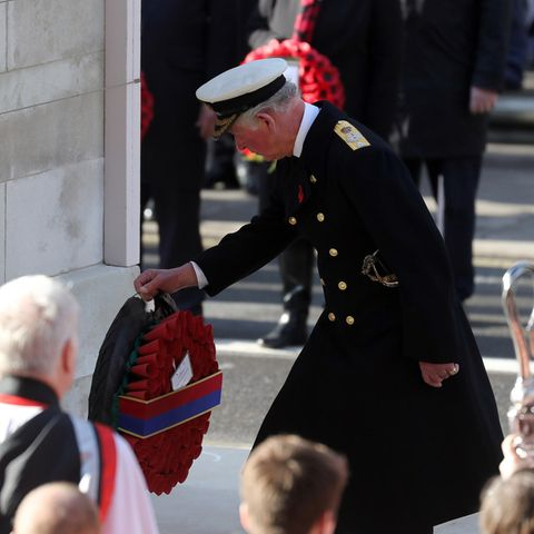 Prinz Charles am Remebrance Sunday (10. November 2019)