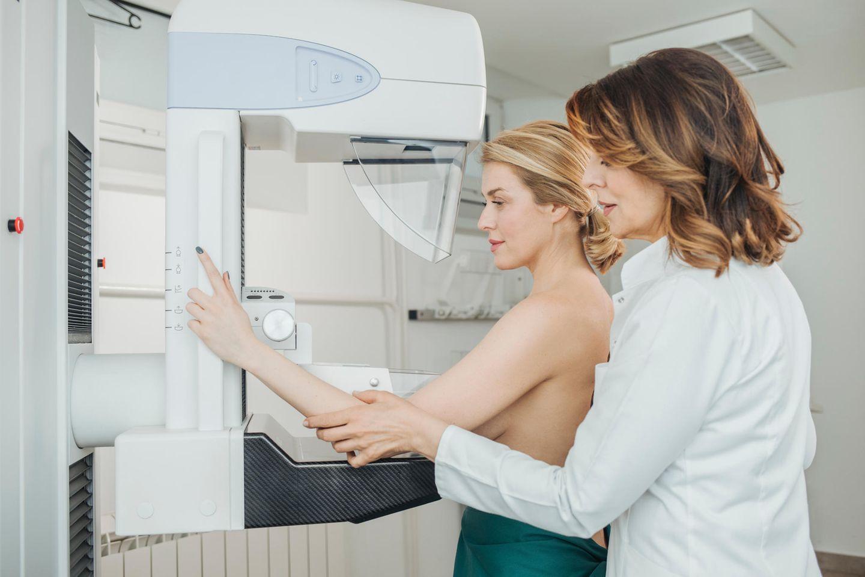 Mammografie Brustkrebsvorsorge