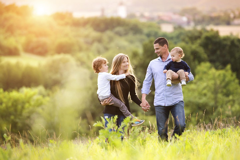 Urlaub mit der ganzen Familie