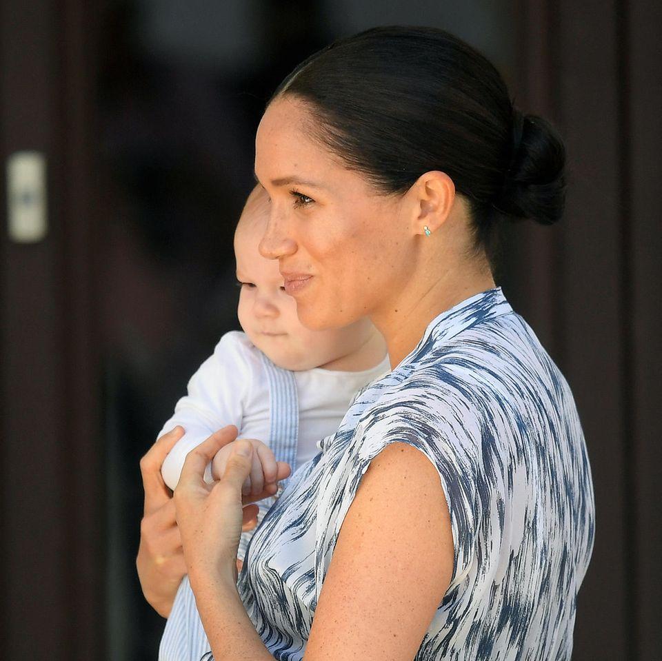 Herzogin Meghan und Baby Archie