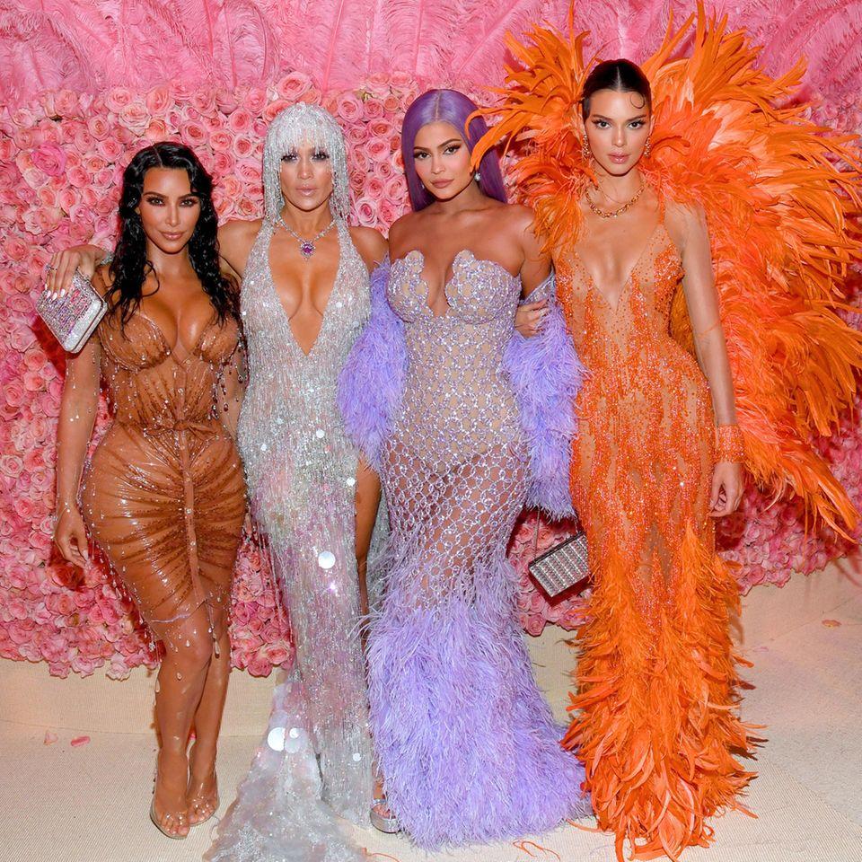 Kim Kardashian, Jennifer Lopez, Kylie Jenner, Kendal Jenner