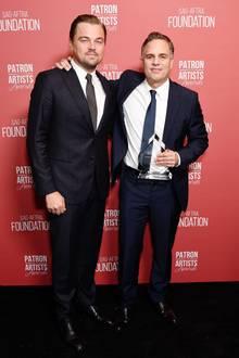 7. November 2019  Die Hollywood-A-Lister Leonardo DiCaprion und Mark Ruffalo feiern ebenfalls mit.