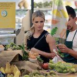 Michelle Hunziker kauft das Obst und Gemüse für ihre Familie am liebsten selbst ein. Frische hat für sie oberste Priorität.