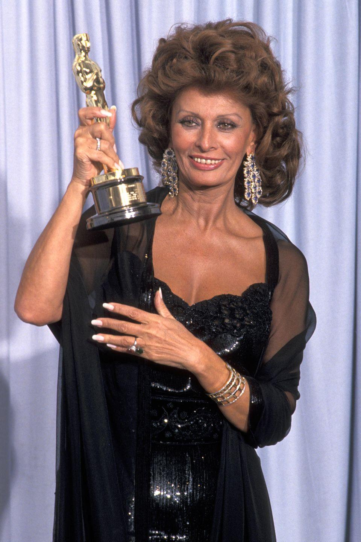 Sophia Loren bekam 1991 denEhrenoscar für ihr Lebenswerk