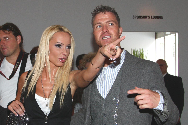 Cora Schumacher + Ralf Schumacher