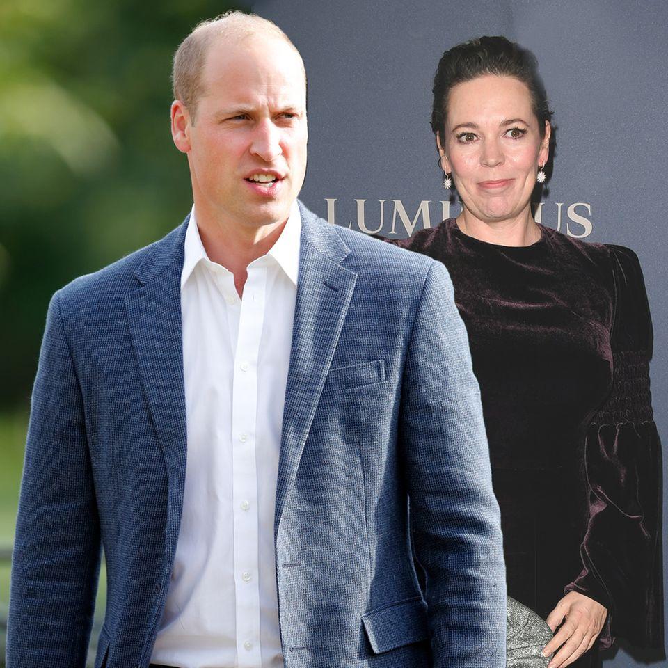 Prinz William, Olivia Colman