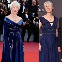 Nein, die Frau an der Seite von Keanu Reeves heißt Alexandra Grant und ist Künstlerin. Helen Mirren nimmt die Verwechslung mit Humor und fühlt sich darauf angesprochen, geschmeichelt.