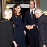 9. November  Herzogin Catherine und Prinz William sind mit weiteren hochrangigen Mitgliedern des Königshauses am Samstagabend in die Royal Albert Hall in London eingeladen.