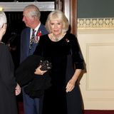 Die Teilnahme von Herzogin Camilla an dem Gedenkfestival war bis zuletzt unklar. Wegen einer Infektion im Brustkorb hatte die 72-Jährige seit Mittwochabend das Bett hüten müssen. Schön für Prinz Charles, dass seine Ehefrau ihn in die Royal Albert Hall begleiten kann.