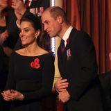 Na, was gibt es denn da zu tuscheln, Kate und William?