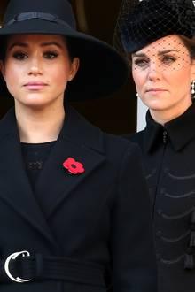 Herzogin Meghan und Herzogin Catherine