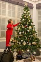 Ho ho hoppla, möchte man sagen! Im Hause Ecclestone/Rutland ist die Vorfreude so groß, dass der Weihnachtsbaum schon am 10. November aufgestellt und geschmückt wird.