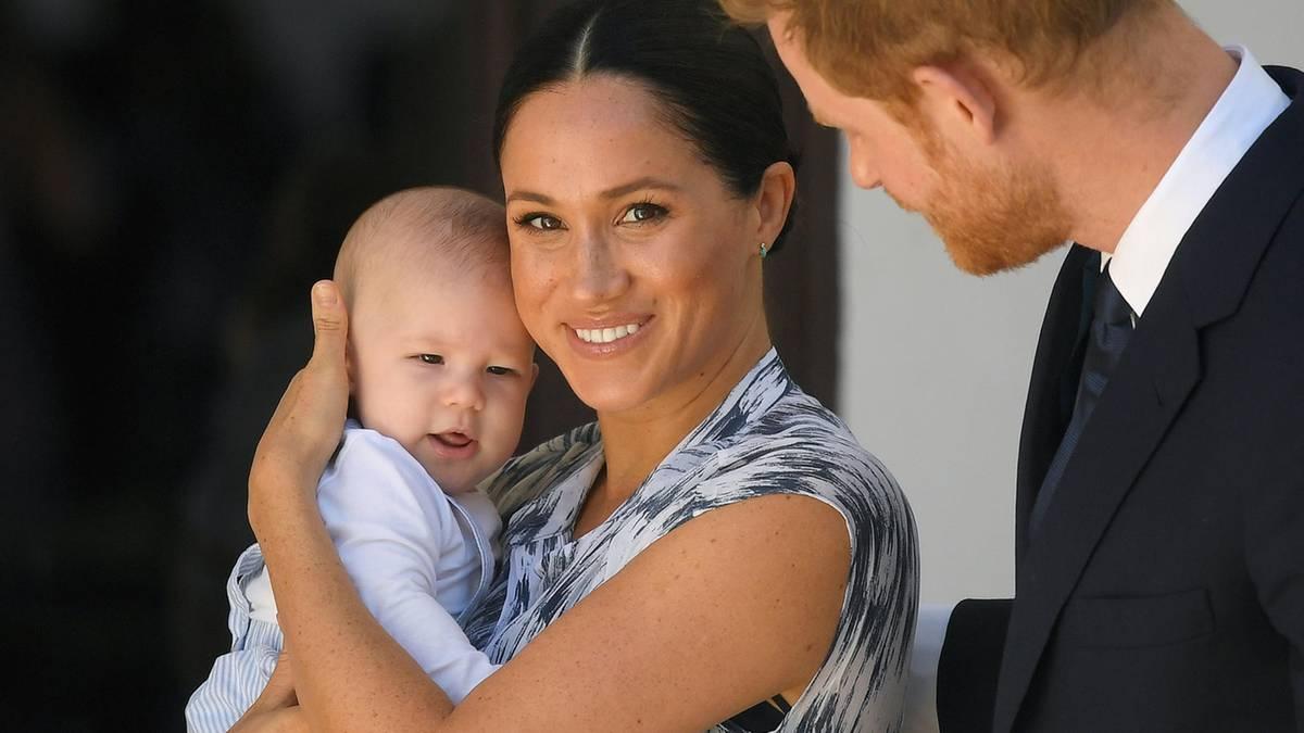 Zum US-Open-Finale in New York kam sie mit Baby Archie