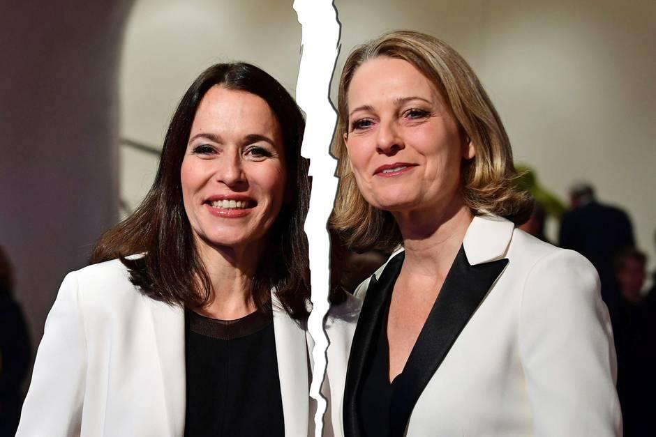 Anne Will undMiriam Meckel bei einem seltenen gemeinsamen Auftritt im Januar 2017 in der Elbphilharmonie.