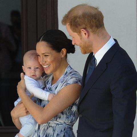 Baby Archie mit Herzogin Meghan + Prinz Harry