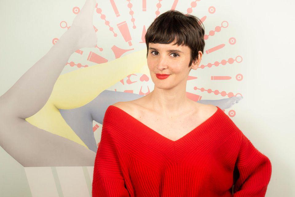 """Diane-Sophie Durigon bietetin ihrer Kölner Boutique """"Le Pop Lingerie"""" Masturbationskurse an."""