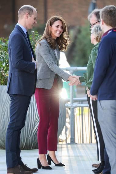 Prinz William und Herzogin Catherine am 12. November in London.