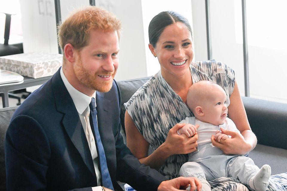 Prinz Harry, Herzogin Meghan + BabyArchie