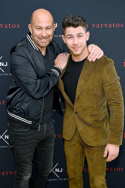 John Varvatos + Nick Jonas