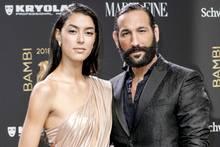Rebecca Mir und Massimo Sinató
