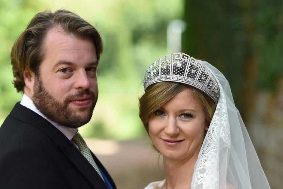 Ferdinand Erbprinz zu Leiningen und Viktoria Luise Prinzessin von Preußen