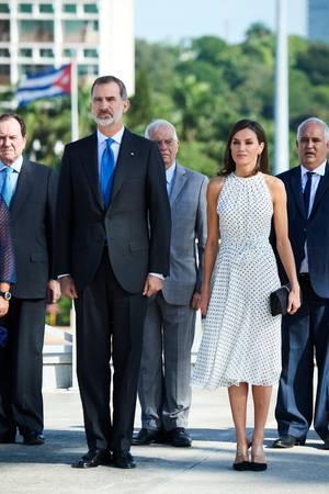 Letizia und Felipe am ersten Tag in Kuba.