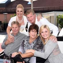 Familie Effenberg bei einer Dirndl-Party in München im Jahr 2015