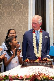 Prinz Charles feiert seinen 71. Geburtstag in Indien