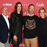 Gala Christmas Shopping Night 2019: Und noch mehr geballte Fashion-Power: KaDeWe-CEO Andre Maeder, Alsterhaus Store Managerin Alexandra Bagehorn, Marcus Luft (Head of GALA Fashion) und Petra Fladenhofer (KaDeWe).