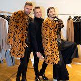 Gala Christmas Shopping Night 2019: Animalprint kommt niemals aus der Mode, das weiß niemand besser als die Fashionprofis André Borchers, Steffen Schraut und Julian Daynov.