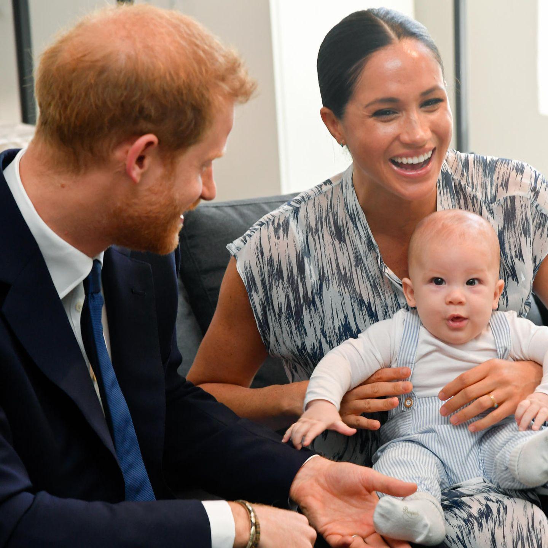 Prinz Harry, Herzogin Meghan + Baby Archie
