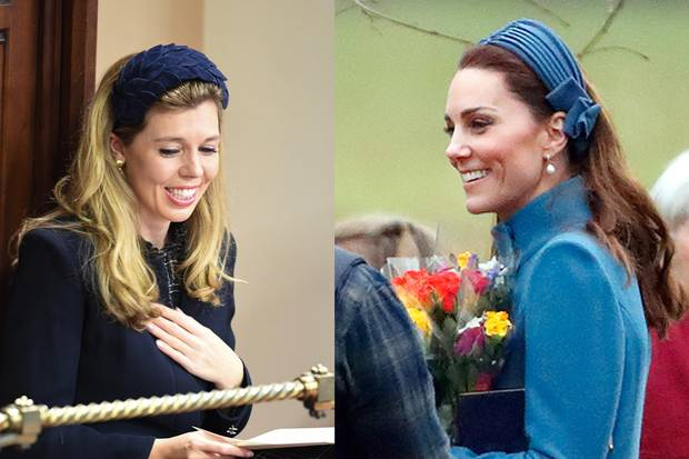 Carrie Symonds und Herzogin Catherine lieben den Haarreifen-Trend.