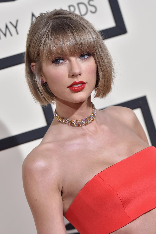 Taylor Swift bei den Grammy Awards in Los Angeles.