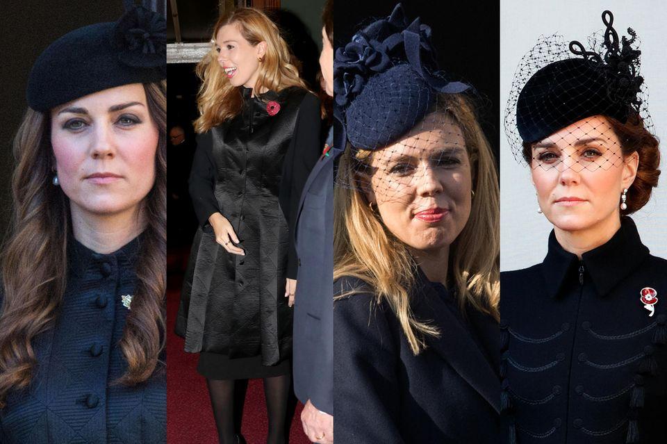 Immer wieder wählt Carrie Symonds Looks, die denen der Herzogin ähneln.