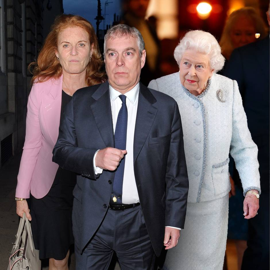 So reagieren Queen Elizabeth und Sarah Ferguson