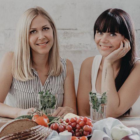 Elisa und Loreen ernähren sich selbst und ihre Kinder zuckerfrei.