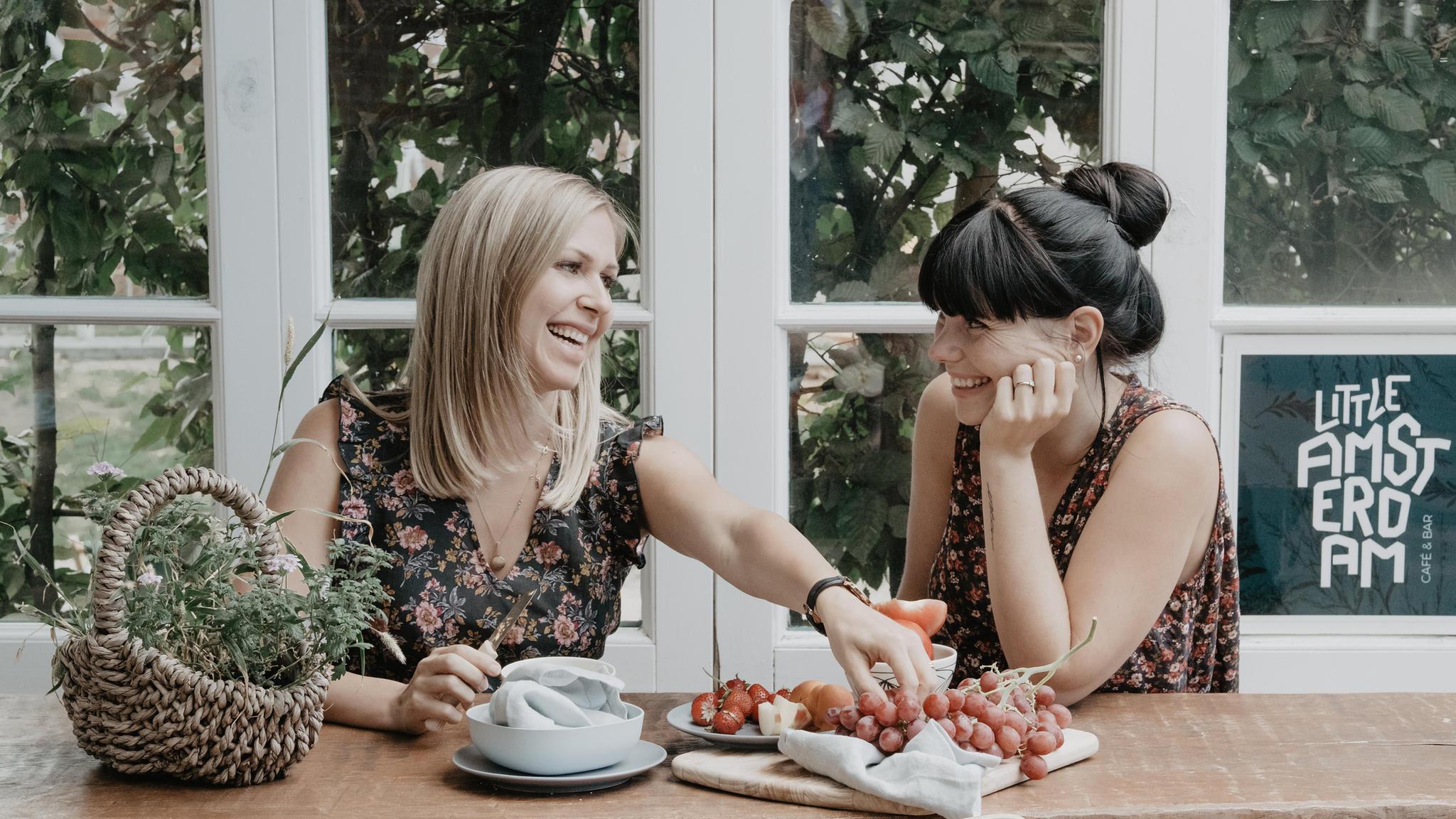 """Elisa und Loreen vom Blog """"Fräulein Immersatt"""""""
