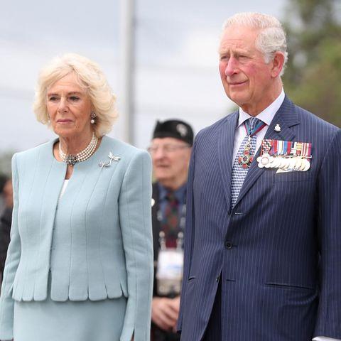 Prinz Charles und Herzogin Camilla am ersten Tag ihrer Neuseeland-Reise
