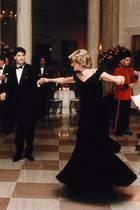 Prinzessin Diana und John Travolta bei ihrem gemeinsamen Tanz