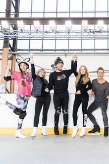 """Die Kandidaten von """"Dancing on Ice"""" 2019"""