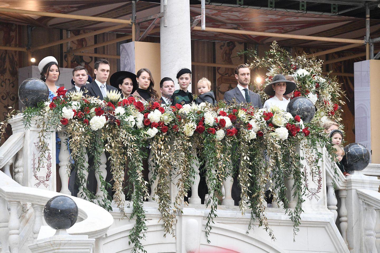 La Fête du Prince 2019: Auch der royale Nachwuchs posiert bereitwillig für die wartenden Fotografen.