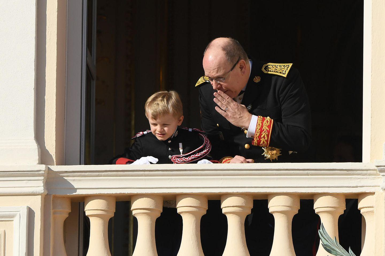La Fête du Prince 2019: Was es zwischen Fürst Albert und Sohnemann Jacques wohl zu tuscheln gibt?