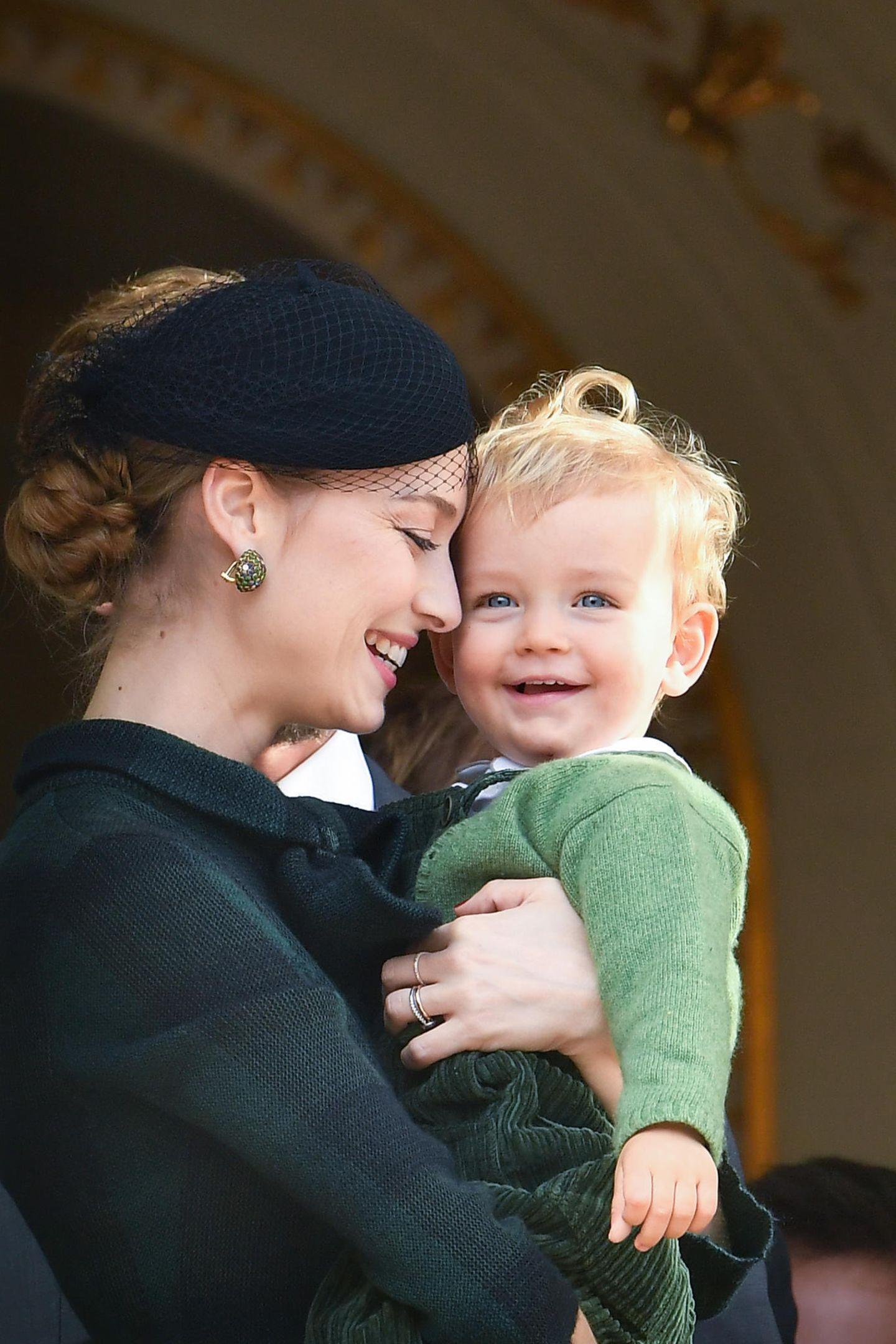 Beatrice Casiraghi und ihr Sohn Francesco