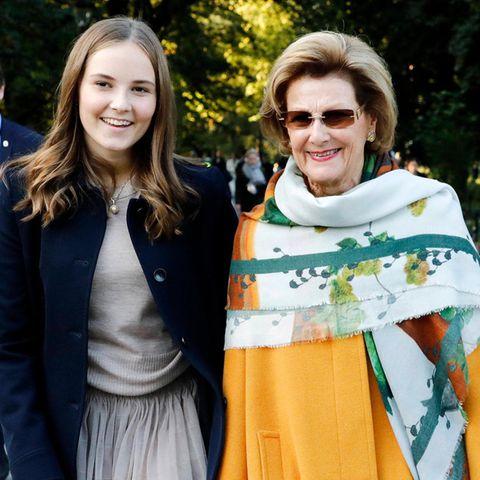 Prinzessin Ingrid Alexandra + Königin Sonja